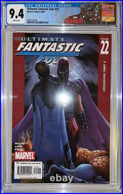 Ultimate Fantastic Four 22 Cgc 9.4 1st App Of Marvel Zombies 2005