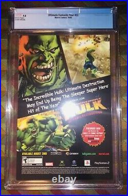 Ultimate Fantastic Four 22 Cgc 9.8 1st App Of Marvel Zombies 2005