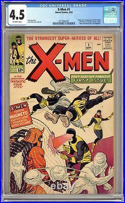 Uncanny X-Men #1 CGC 4.5 1963 3773962001 1st app. X-Men