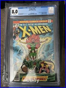 Uncanny X-Men #101 CGC 8.0 1976 1st app. Phoenix