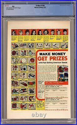 Uncanny X-Men #104 CGC 9.8 1977 3733076002 1st app. Starjammers