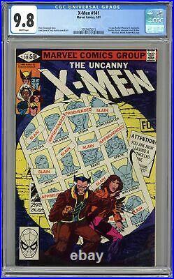 Uncanny X-Men #141 CGC 9.8 1981 3765455015 1st app. Rachel Summers