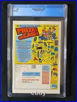 Uncanny X-Men #158 CGC 9.6 (1982) RARE Newsstand 1st app Rogue in title