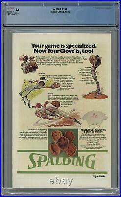 Uncanny X-Men Mark Jewelers #101MJ CGC 9.6 1976 1445065007 1st app. Phoenix