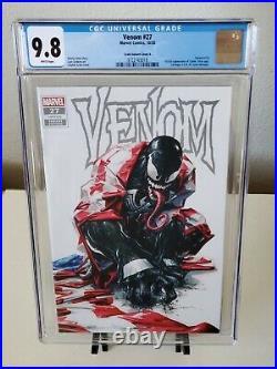Venom #27 Clayton Crain Trade Variant CGC 9.8 1st App Codex