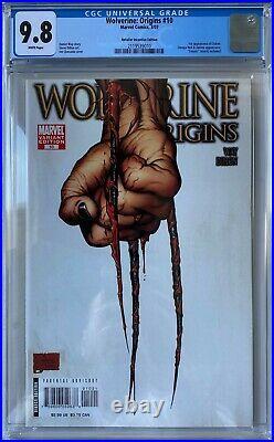 Wolverine Origins #10 CGC 9.8 1st app. Of Daken (3rd Claw) KEY ISSUE! L@@K