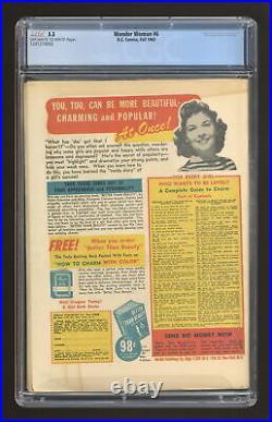Wonder Woman #6 CGC 5.5 1943 1241274002 1st app. Cheetah