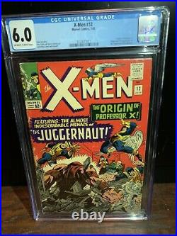 X-MEN 12 CGC 6.0 1st App Juggernaut Origin Pro X 3720877011