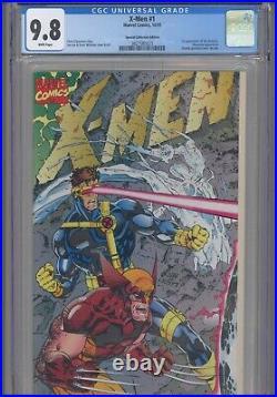 X-Men #1 CGC 9.8 1991Marvel Jim Lee 1st App Acolytes, Collectors Edition 1 of 5