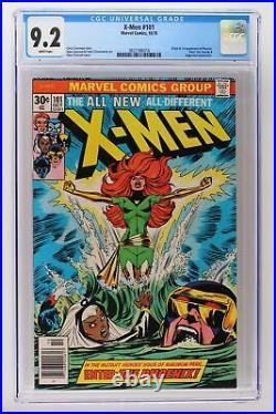 X-Men #101 Marvel 1976 CGC 9.2 Origin & 1st App Phoenix! Juggernaut App