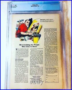 X-Men #12 (Jul 1965, Marvel) CGC 4.0 1st App. Of the Juggernaut OW Pages