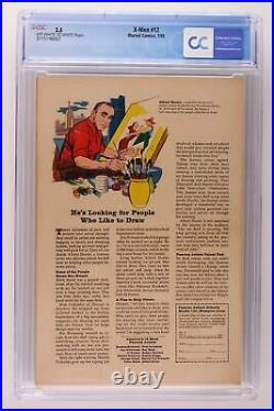 X-Men #12 Marvel 1965 CGC 3.5 Origin Prof X. Origin & 1st App Juggernaut