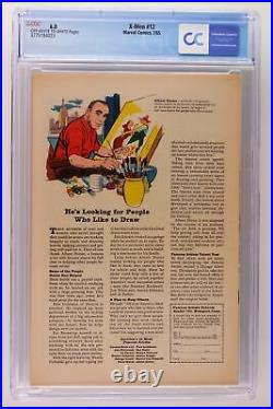 X-Men #12 Marvel 1965 CGC 6.0 Origin Prof X! Origin & 1st App Juggernaut
