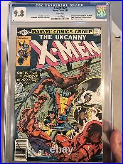 X-Men #129 CGC 9.8 1st app Kitty Pryde & White Queen White Pages Perfect Wrap