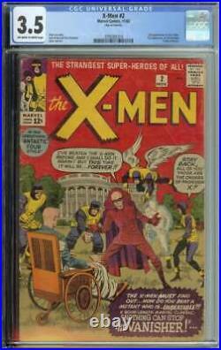 X-Men #2 CGC 3.5 1st App The Vanisher