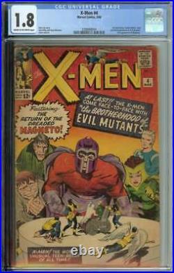 X-Men #4 CGC 1.8 1st App Scarlet Witch Quicksilver